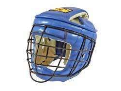 Шлем с маской для Армейского Рукопашного Боя Рей-спорт ик.кожа - фото 5342