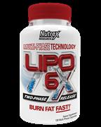 Nutrex Lipo-6RX 60кап
