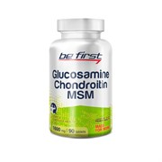 Be First Glucosamine + Chondroitin + MSM 90 таб