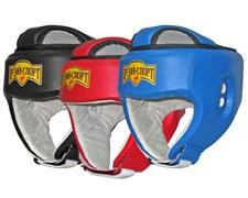Шлем для единоборств с закрытым верхом БОЕЦ-3, иск. кожа